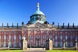 Germany, Potsdam, Berlin Brandenburg, Sanssouci. the New Palace at the Sanssouci Park. Photographic Print by Ken Scicluna
