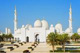 Middle East, United Arab Emirates, Abu Dhabi, Sheikh Zayed Grand Mosque Photographic Print by Christian Kober
