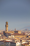 Italy, Tuscany, Florence. Palazzo Vecchio and Overview of Surroundings. Photographic Print by Ken Scicluna