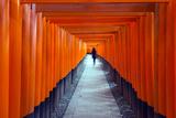Asia, Japan, Honshu, Kyoto, Fushimi Inari Jinja; Unesco Photographic Print by Christian Kober