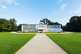 Europe, Poland, Warsaw, Lazienki Park, the New Orangery Building Photographic Print by Christian Kober