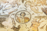 Turkey, Eastern Anatolia, Hatay, Mosaic Museum; Yakto Mosaic Photographic Print by Christian Kober