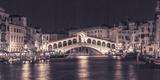 Venice at Night Impression giclée par Assaf Frank