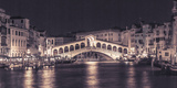 Venice at Night Giclee Print by Assaf Frank