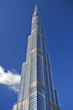 The Burj Khalifa (Armani Hotel) Designed by Skidmore Owings and Merrill, Business Bay, Dubai Photographic Print by Cahir Davitt