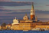 San Giorgio Maggiore at Sunset Viewed from Giudecca, Venice, Veneto, Italy. Photographic Print by Cahir Davitt