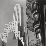 Buildings at Park Avenue and 40th Giclee Print by  The Chelsea Collection