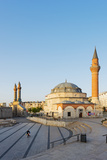Turkey, Central Anatolia, Sivas, Twin Minarets of Cifte Minare Medressah and Kale Camii Photographic Print by Christian Kober