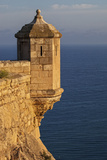 Lookout Tower of Santa Barbara Castel Overlooking the Bay of Alicante, Costa Brava, Alicante Photographic Print by Cahir Davitt