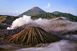 Indonesia, Java, Bromo. a Stunning Volcanic Landscape from Mount Penanjakan at Sunrise. Photographic Print by Nigel Pavitt