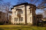 Germany, Saxony, Leipzig. a Villa in the Historic Centre. Photographic Print by Ken Scicluna