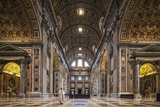 The South Transept of St. Peter's Basilica Photographic Print by Cahir Davitt