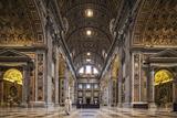 The South Transept of St. Peter's Basilica Photographic Print by Cahir Davitt