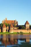Europe, Poland, Pomerania, Medieval Malbork Castle, Marienburg Fortress of Mary, UNESCO Site Photographic Print by Christian Kober