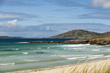 Uk, Scotland, Outer Hebrides, Harris. Ceilebost Beach Photographic Print by John Warburton-lee