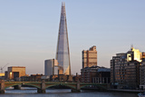 View across the Thames of the Shard, London Bridge Tower, Se1, London Photo by Julian Castle