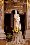 Italy, Veneto, Padua. Statue of a Madonna in the Church of San Gaetano. Photographic Print by Ken Scicluna