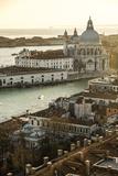 Basilica Di Maria Della Salute in Punta Della Dogana at San Mark's Square, Venice Photographic Print by Carlos Sanchez Pereyra