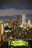 Asia, Japan, Honshu, Tokyo, Ikebukuro, City Skyline Photographic Print by Christian Kober