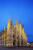 Europe, Italy, Lombardy, Milan, Piazza Del Duomo, Duomo Gothic Style Cathedral Photographic Print by Christian Kober