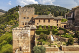 View of the Famous Alhambra, Granada, Andalusia, Spain. Photographic Print by Carlos Sanchez Pereyra