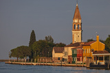 The Campanile Di Mazzorbo at Sunset on Isola Mazzorbo, Vencie, Veneto, Italy. Photographic Print by Cahir Davitt