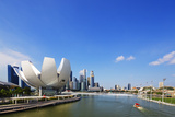 South East Asia, Singapore, Art Science Museum by the Bay Photographic Print by Christian Kober