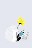 Herisson et Fleur Prints by Myriam Tebbakha