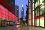 The Shard Is an 87-Storey Skyscraper, London, England Photographic Print by David Bank