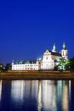 Europe, Poland, Malopolska, Krakow, Church on the Rock Photographic Print by Christian Kober