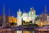 Mediterranean Europe, Malta, the Three Cities, Vittoriosa (Birgu), Grand Harbour Marina Photographic Print by Christian Kober