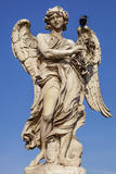 Angel with the Crown of Thorns, Sculpted by Gian Lorenzo Bernini on the Ponte Sant Angelo, Ponte Photographic Print by Cahir Davitt
