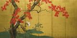 Maple Tree Reproduction procédé giclée par Sakai Hoitsu