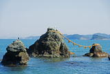 Asia, Japan, Honshu, Mie Prefecture, Futaminoura Rocks Photographic Print by Christian Kober