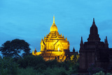 South East Asia, Myanmar, Bagan, Htilominlo Pahto Photographic Print by Christian Kober