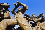 Asia, Republic of Korea, South Korea, Seoul, Seoul War Memorial, Sculpture Photographic Print by Christian Kober