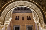 Mosaic Walls at the Alhambra Palace, Granada, Andalusia, Spain Photographic Print by Carlos Sanchez Pereyra