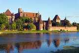 Europe, Poland, Pomerania, Medieval Malbork Castle, Marienburg Fortress of Mary, UNESCO Site Photographic Print by Christian Kober