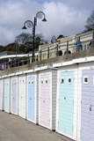 Beach Huts Along the Seafront, Lyme Regis, Dorset, UK Photo by Natalie Tepper