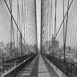 The Brooklyn Bridge, Sunday PM Giclee Print by  The Chelsea Collection
