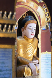 South East Asia, Myanmar, Monywa, Thanboddhay Paya Temple, Buddha Statues Photographic Print by Christian Kober