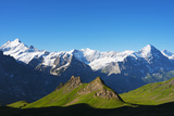 Europe, Switzerland, Swiss Alps Jungfrau-Aletsch UNESCO World Heritage Site Photographic Print by Christian Kober