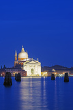 Europe, Italy, Veneto, Venice, Church across Basino Di San Venice Lagoon Photographic Print by Christian Kober