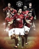 Manchester United- Players 16/17 Prints