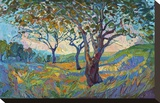 Impression Stretched Canvas Print by Erin Hanson