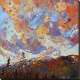 Over the Crest Reproducción en lienzo de la lámina por Erin Hanson