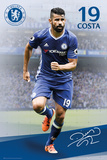 Chelsea- Costa 16/17 Poster