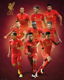 Liverpool F.C.- Players 16/17 Plakat