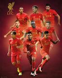 Liverpool F.C.- Players 16/17 Kunstdrucke