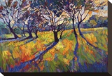 Crystal Light II Stretched Canvas Print by Erin Hanson